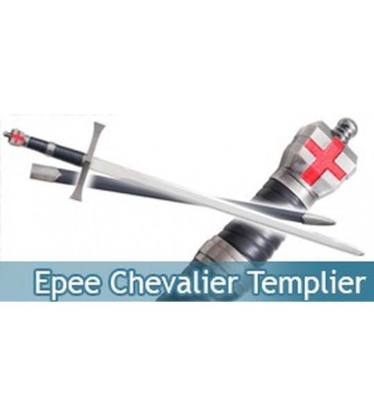 Epee Chevalier Templier Sabre Replique Decoration