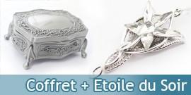 Pack Bijou Arwen Etoile du Soir + Boitier Acier Evenstar