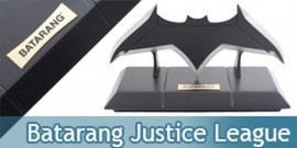 Batman Batarang Acier Justice League + Support