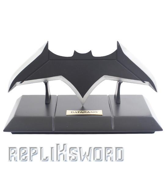 Batman Batarang Acier Justice League + Support