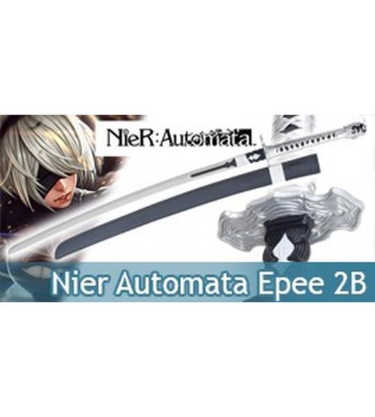 Nier Automata Epee 2B Replique Acier Yorha Sabre Katana
