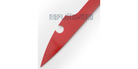 Keyblade Rouge Epee Acier Replique