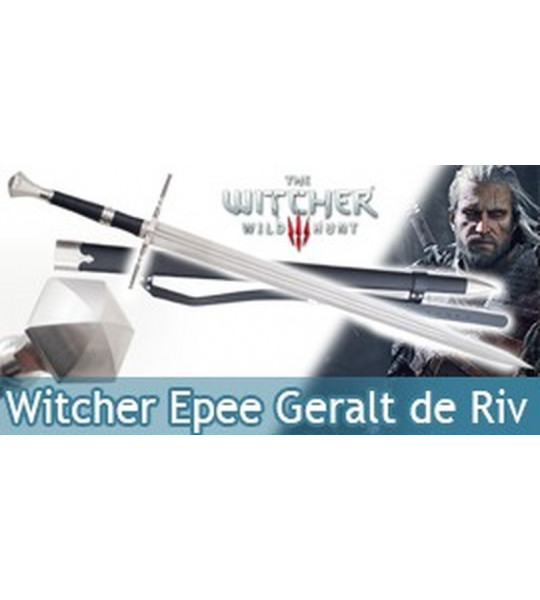 The Witcher Epee Geralt de Riv Replique Sabre et Fourreau