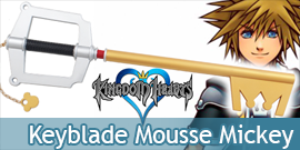 Kingdom Hearts Mickey Gold...