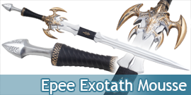 Exotath Epee Latex Mousse...