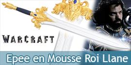 Warcraft Epee du Roi Llane en Mousse Replique Sabre
