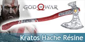 God of War Hache kratos...