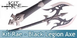 Kit Rae - Black Legion Axe Hache - KR0022