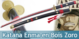 One Piece Katana Enma Sabre...