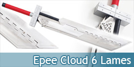 Cloud Epee 6 Lames Buster