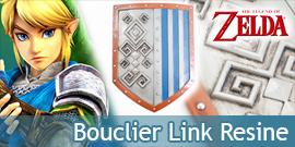 Zelda Bouclier Link Resine...