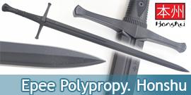 Honshu Epee Polypropylene United Cutlery UC3312 Entrainement