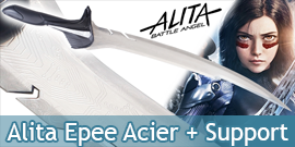 Alita Epee Acier Battle...