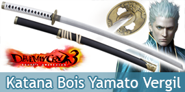 Katana en Bois Yamato Epée...