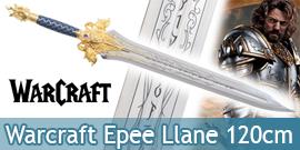 Warcraft Epee Roi Llane Wrynn Lame Acier Lion's Fang