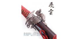 Katana Set 3 - Dragon Red Edition
