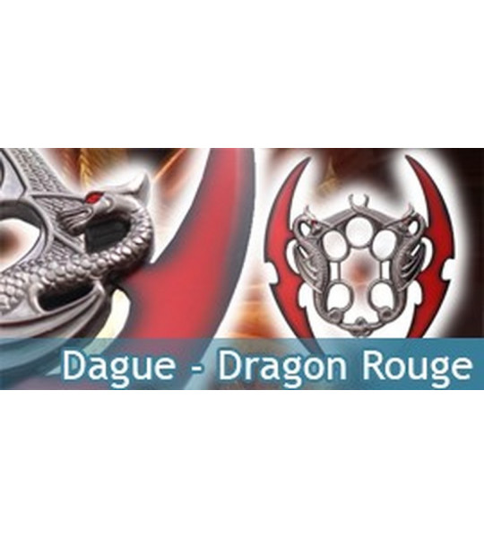Dague - Dragon rouge