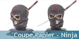 Coupe papier - Ninja