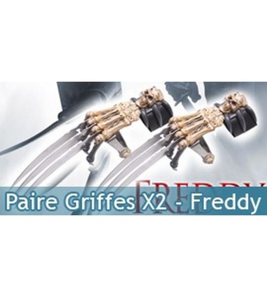 Paire Griffes X2 - Freddy
