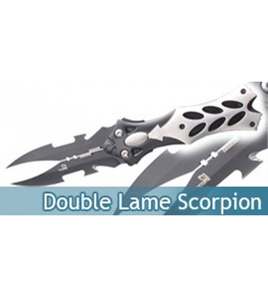 Couteau Double Lame Scorpion Master Cutlery