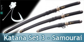 Katana Set 3 - Black Edition