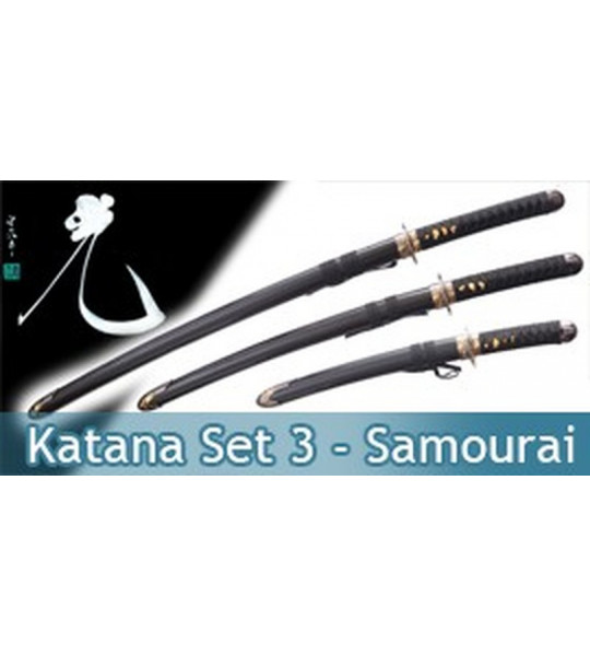 Katana Set 3 - Black Edition