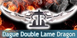 Dague Double Lame Dragon
