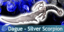 Dague Silver Scorpion