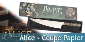 Alice Madness - Coupe Papier