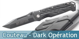 Couteau Dark Opération