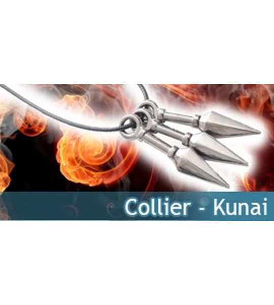 Collier Kunai