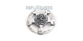 Shuriken Silver Dragon