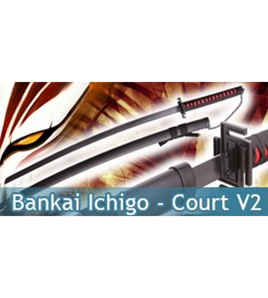 Bankai Ichigo Court Red V2