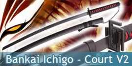Bankai Ichigo Court Red V2
