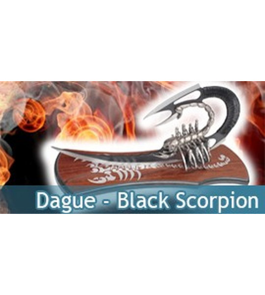 Dague Black Scorpion