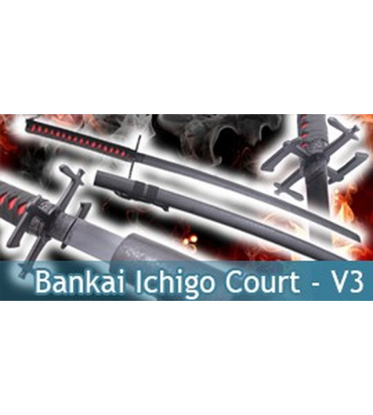 Bankai Ichigo Court Red V3 - Katana