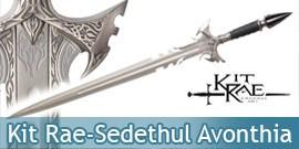 Kit Rae Sedethul - Avonthia Silver Edition Epée