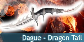 Dague Dragon Tail