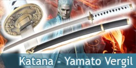 Katana Yamato Epée de Vergil Devil May Cry Sparda