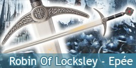 Robin Of Locksley - Epée