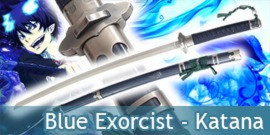Blue Exorcist - Katana Rin Okumura