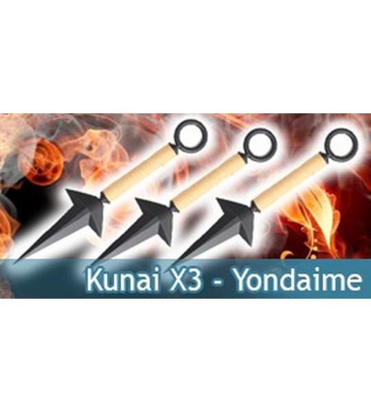 Yondaime Kunai X3
