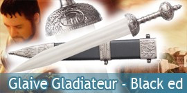 Glaive Gladiateur - Black Edition