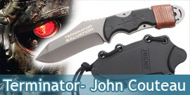 Terminator - John Connor Couteau - Grey Edition