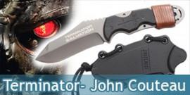 Terminator - John Connor Couteau - Grey Edition