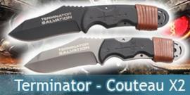 Terminator - John Connor 2X Couteau