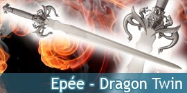 Epée Dragon Twin