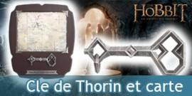 Hobbit - Cle de Thorin et carte taille reelle