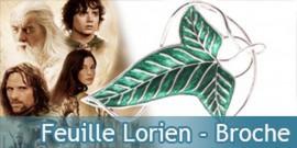 Feuille de la Lorien - Broche