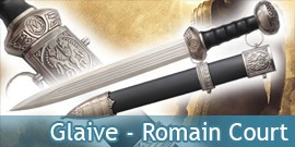 Glaive Romain Court